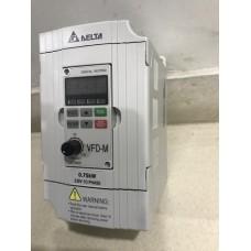 Delta Inverter, 0.75kw,  203V,1-Phase (VFD007M21A)