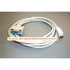 Schneider PLC Programming Cable for Schneider Modicon TSX/Neza/Twido PLC(USB)